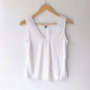 Triumph Amourette Soft Lace Trim Vintage Camisole